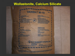 Wollastonite is the natural mineral calcium silicate. It has been used for industrial applications, but has promise as an agricultural amendment.